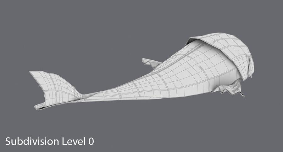 Origami djur samling royalty-free 3d model - Preview no. 13