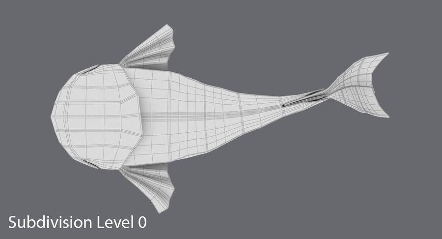 Origami djur samling royalty-free 3d model - Preview no. 69