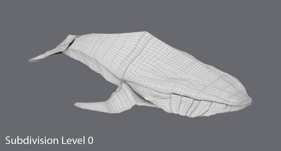 Origami djur samling royalty-free 3d model - Preview no. 23