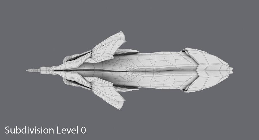 Origami djur samling royalty-free 3d model - Preview no. 46