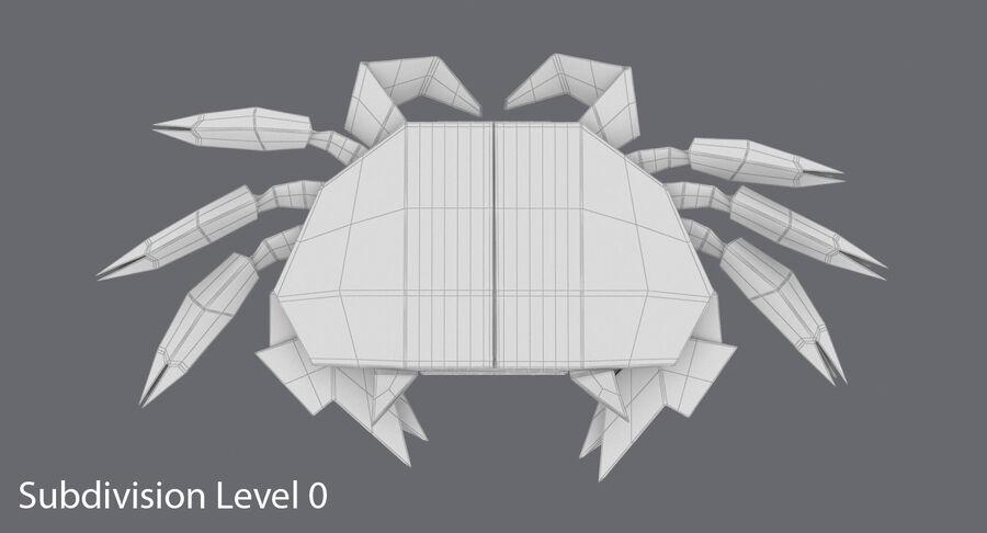 Origami djur samling royalty-free 3d model - Preview no. 61