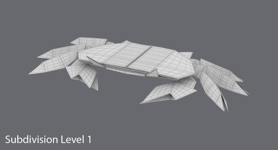 Origami djur samling royalty-free 3d model - Preview no. 54