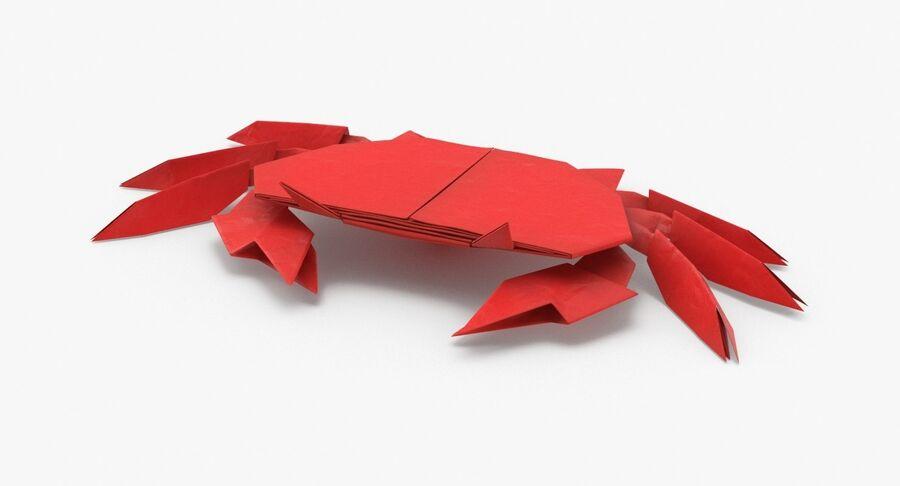 Origami djur samling royalty-free 3d model - Preview no. 49