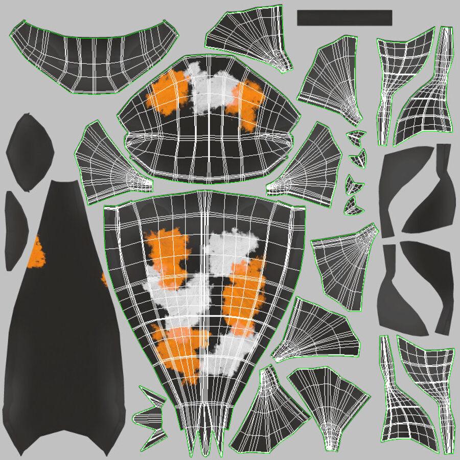 Origami djur samling royalty-free 3d model - Preview no. 71