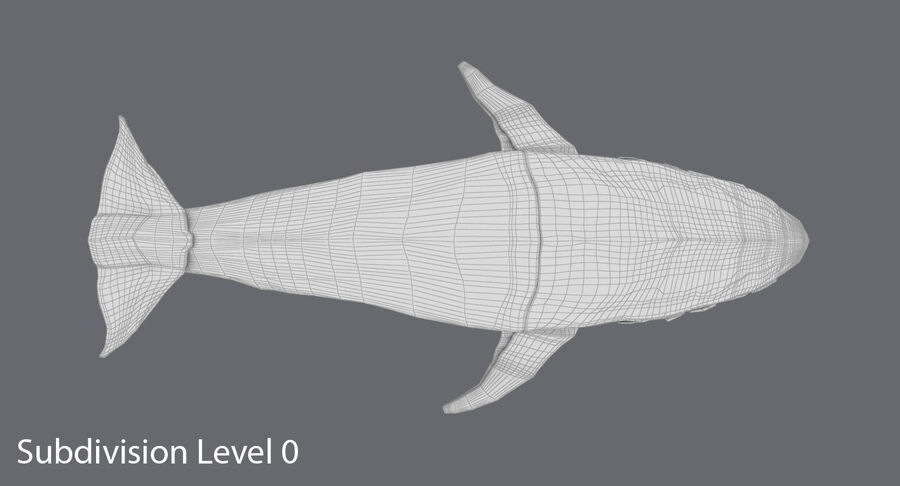 Origami djur samling royalty-free 3d model - Preview no. 24