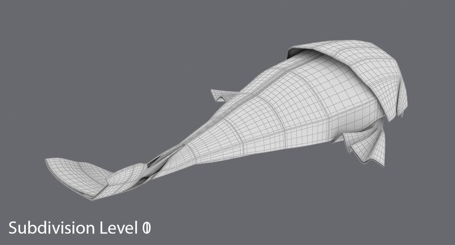 Origami djur samling royalty-free 3d model - Preview no. 67