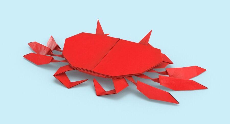 Origami djur samling royalty-free 3d model - Preview no. 53