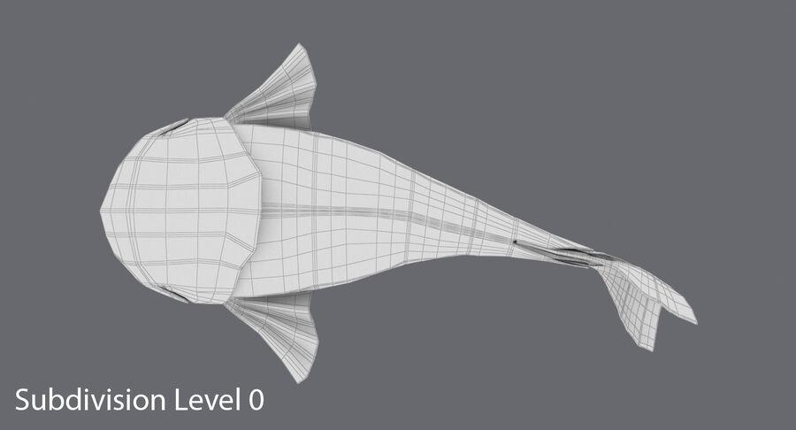 Origami djur samling royalty-free 3d model - Preview no. 12