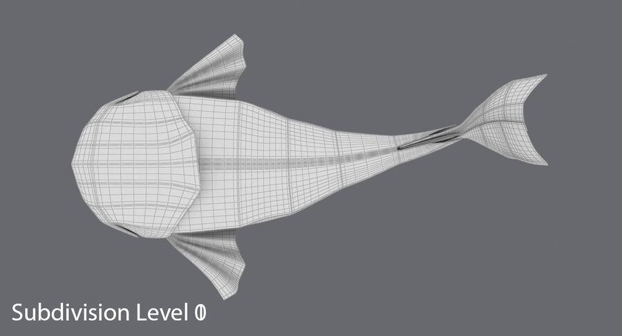 Origami djur samling royalty-free 3d model - Preview no. 66