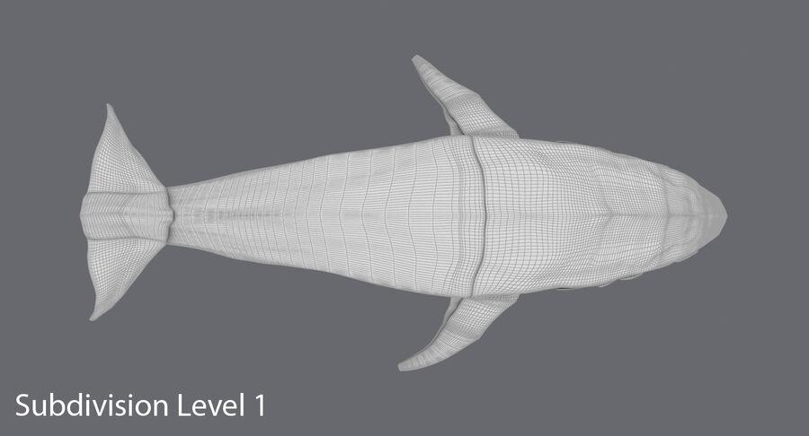 Origami djur samling royalty-free 3d model - Preview no. 21