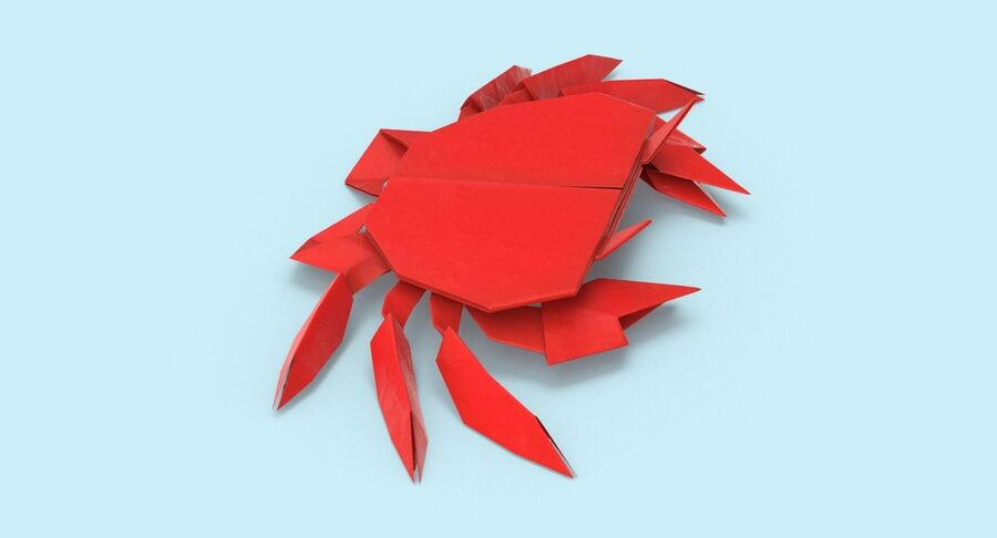 Origami djur samling royalty-free 3d model - Preview no. 51