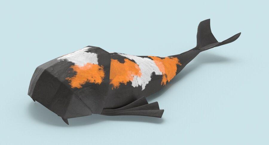 Origami djur samling royalty-free 3d model - Preview no. 57