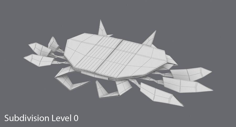 Origami djur samling royalty-free 3d model - Preview no. 63
