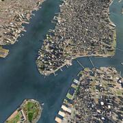 맨해튼 시티 3d model