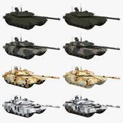 T-90 MS-kleurencollectie 3d model