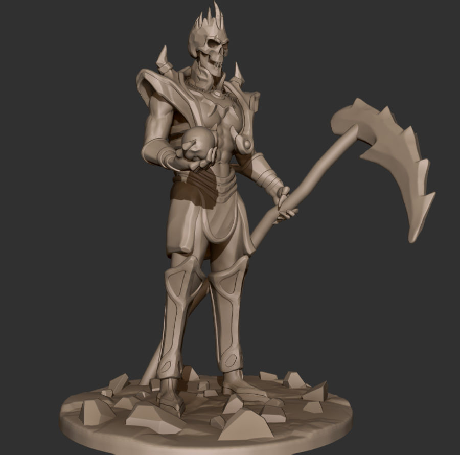 Undead Lord royalty-free 3d model - Preview no. 1