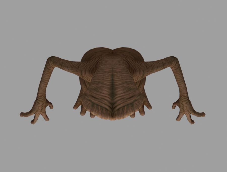 ET stary royalty-free 3d model - Preview no. 6