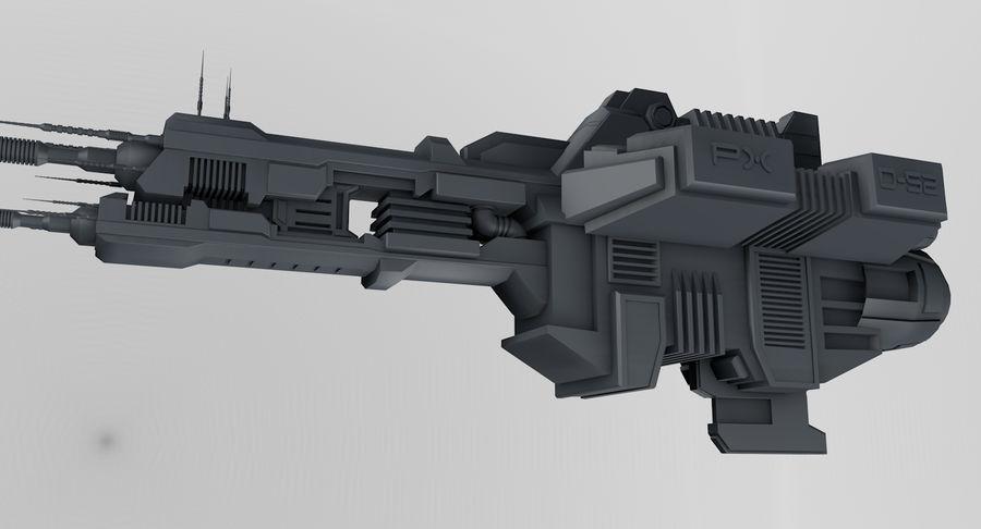 宇宙船 royalty-free 3d model - Preview no. 1