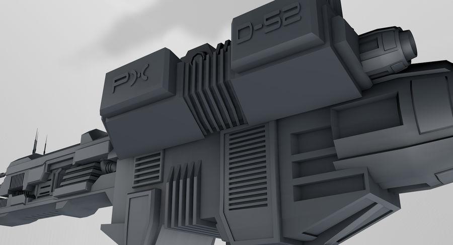 宇宙船 royalty-free 3d model - Preview no. 7