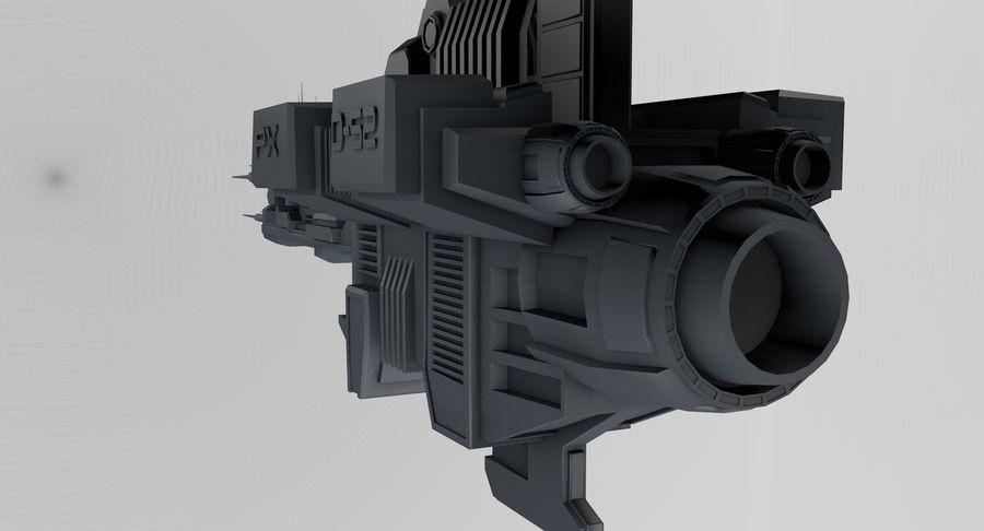 宇宙船 royalty-free 3d model - Preview no. 12
