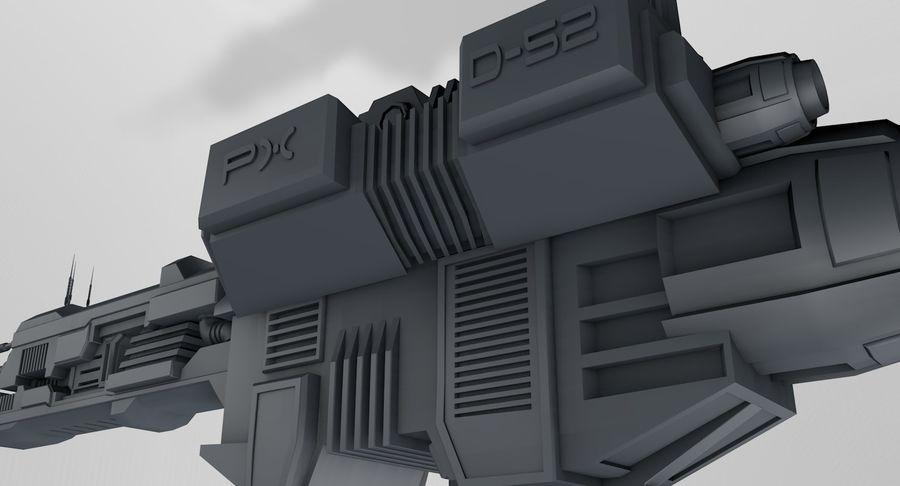 宇宙船 royalty-free 3d model - Preview no. 11