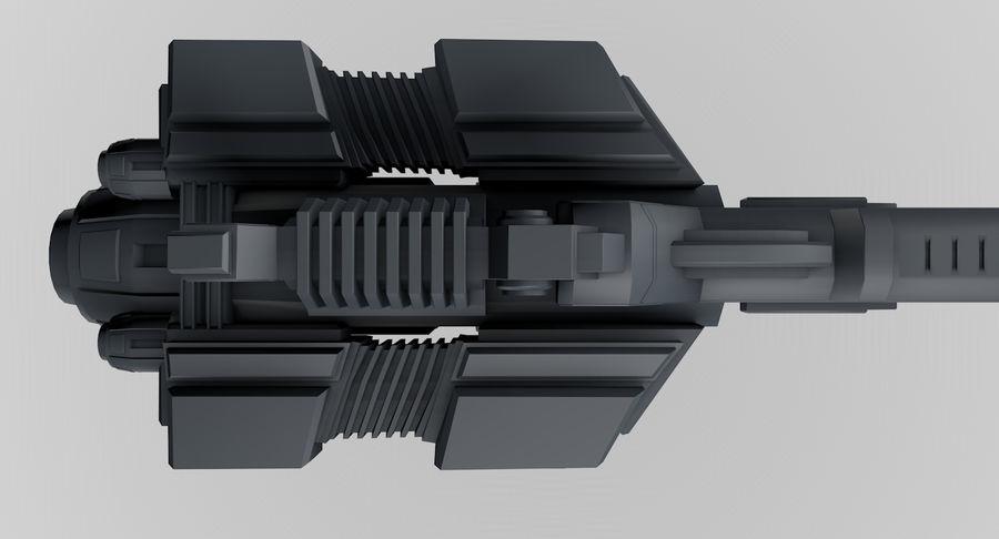 宇宙船 royalty-free 3d model - Preview no. 9