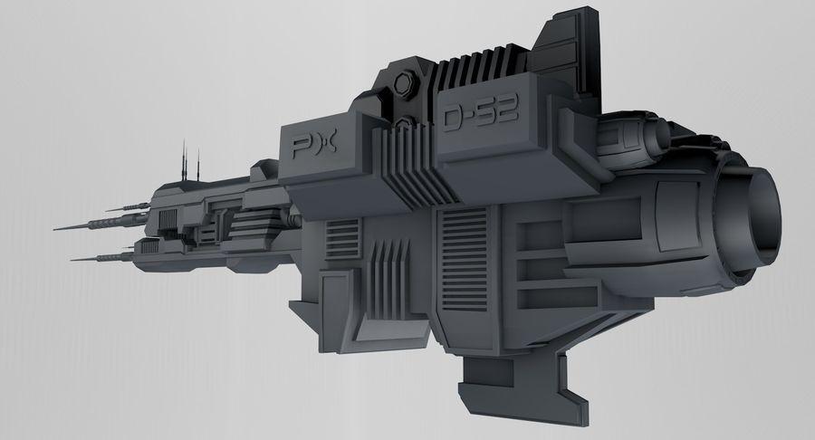 宇宙船 royalty-free 3d model - Preview no. 2