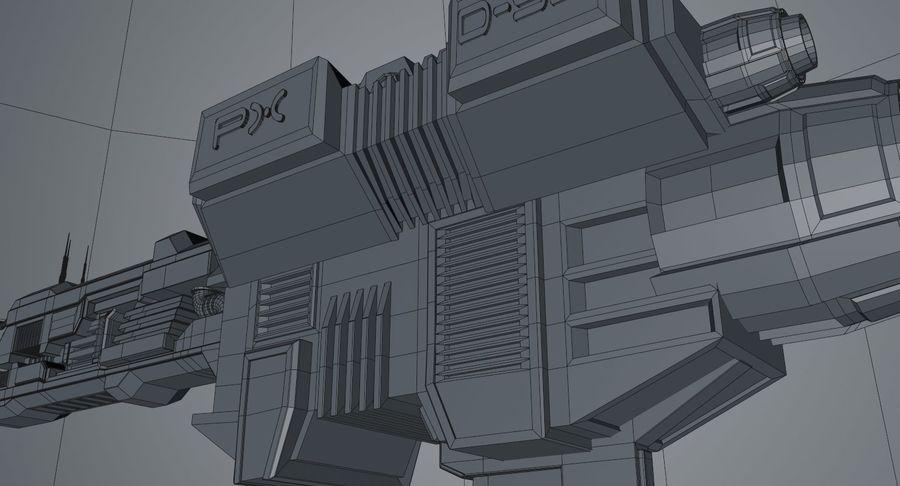 宇宙船 royalty-free 3d model - Preview no. 18