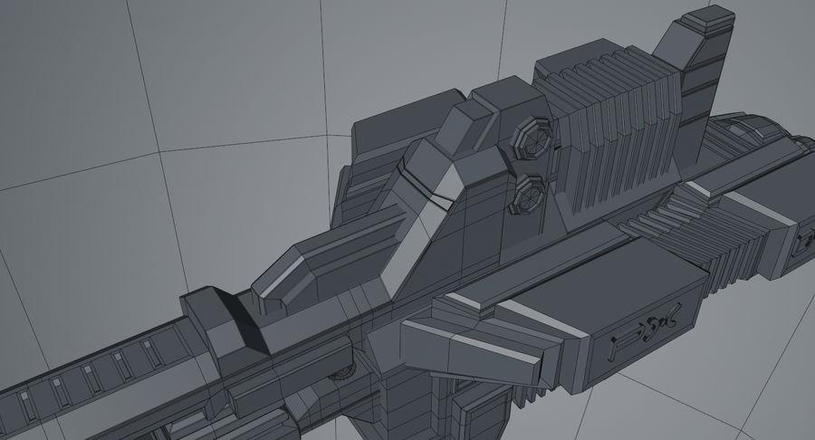 宇宙船 royalty-free 3d model - Preview no. 15