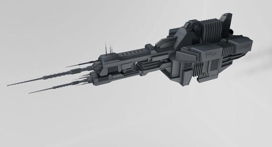宇宙船 royalty-free 3d model - Preview no. 4