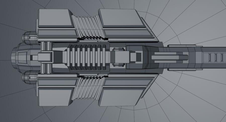 宇宙船 royalty-free 3d model - Preview no. 20