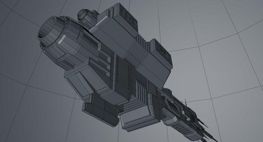 宇宙船 royalty-free 3d model - Preview no. 17