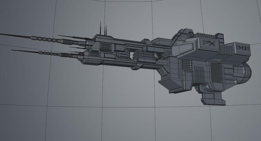 宇宙船 royalty-free 3d model - Preview no. 13