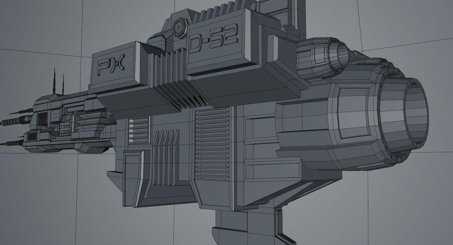 宇宙船 royalty-free 3d model - Preview no. 14
