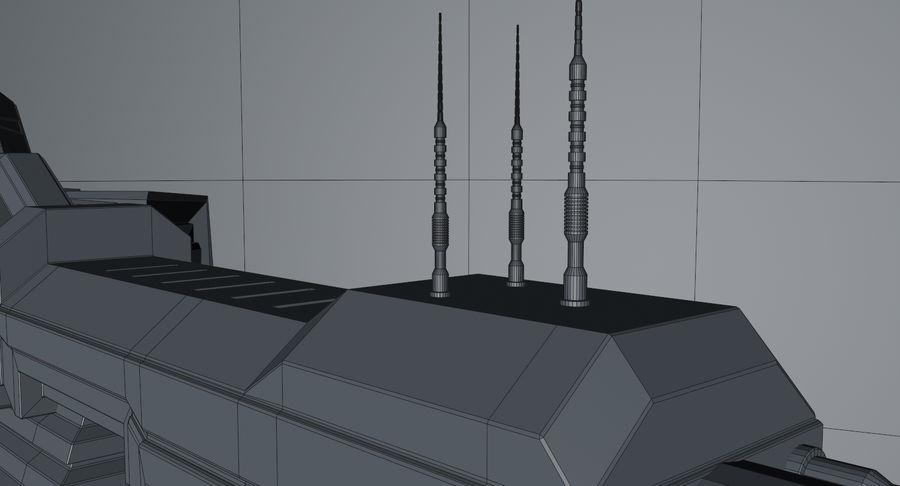 宇宙船 royalty-free 3d model - Preview no. 22