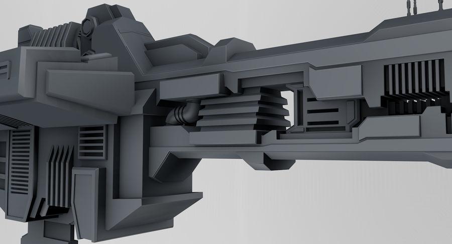 宇宙船 royalty-free 3d model - Preview no. 5