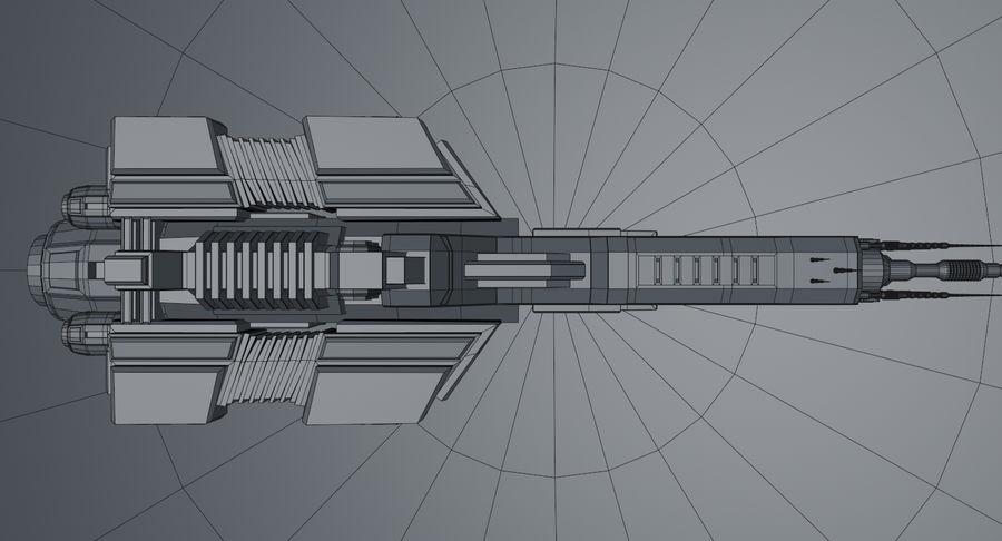 宇宙船 royalty-free 3d model - Preview no. 19