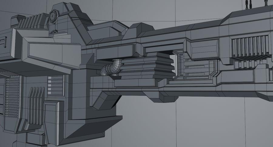 宇宙船 royalty-free 3d model - Preview no. 16