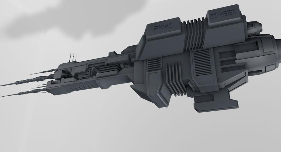 宇宙船 royalty-free 3d model - Preview no. 3