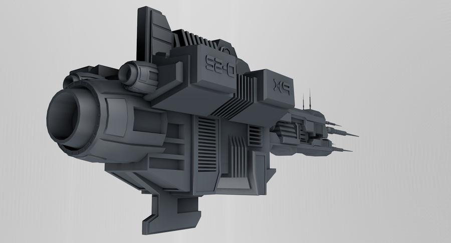 宇宙船 royalty-free 3d model - Preview no. 6