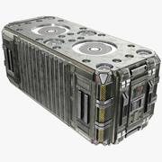 Scifi Container - PBR 3d model
