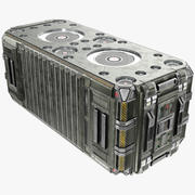 科幻容器-PBR 3d model