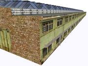 Factory industrial 3d model