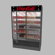 Réfrigérateur de marché 3d model