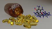 Vitamina E 3d model