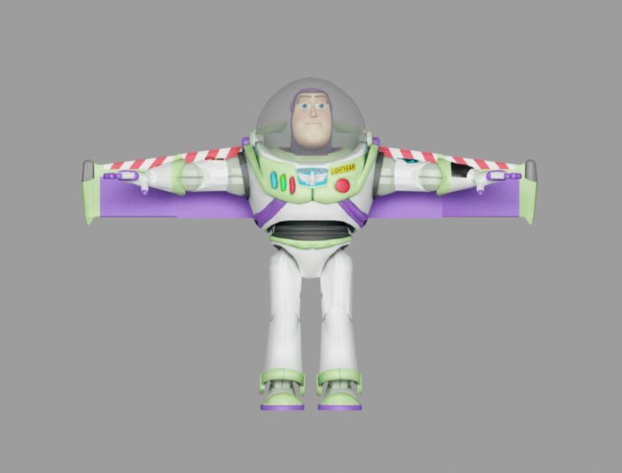 buzz speelgoedverhaal royalty-free 3d model - Preview no. 2