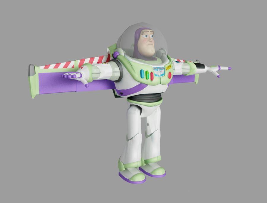 buzz speelgoedverhaal royalty-free 3d model - Preview no. 3