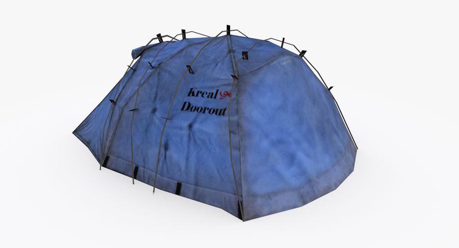 Tente royalty-free 3d model - Preview no. 3