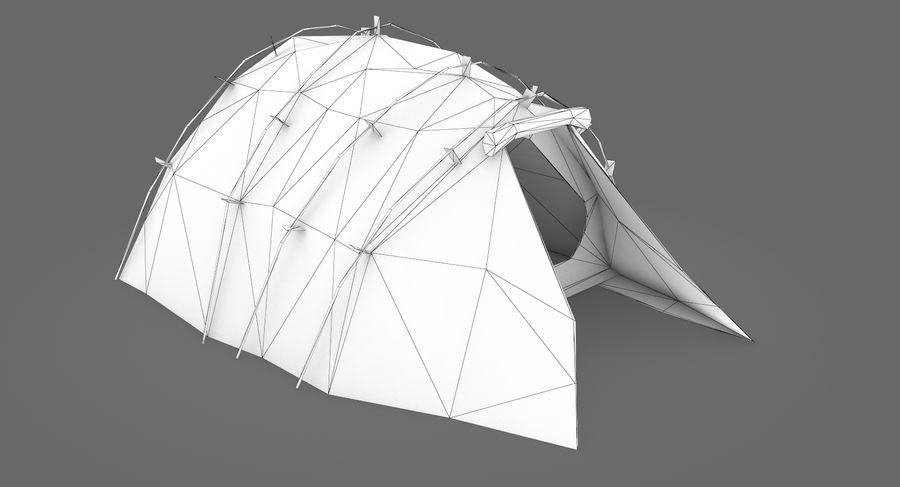 Tente royalty-free 3d model - Preview no. 6