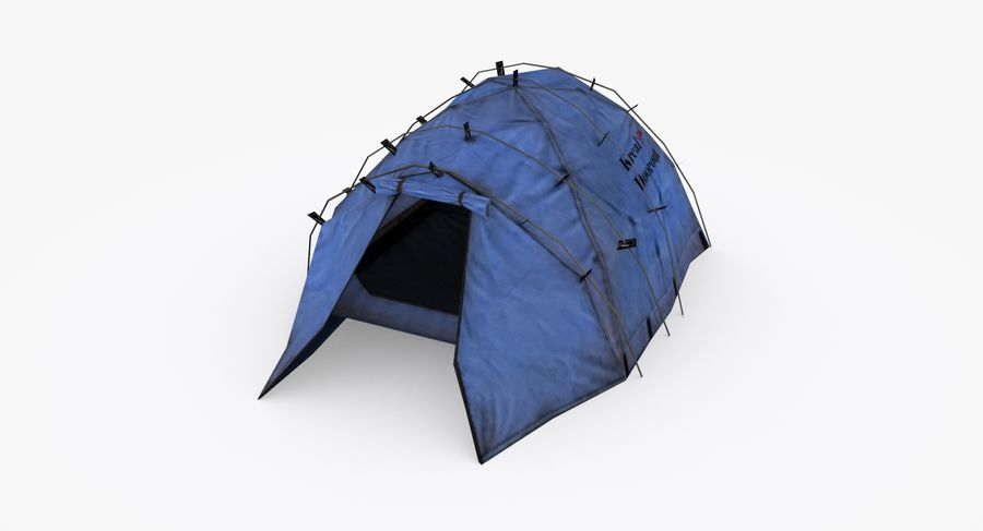 Tente royalty-free 3d model - Preview no. 5